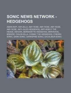 Hedgehogs: Aman Rapi, Amy Zilla, Amy Rose, Amy Rose, Amy Rose, Amy