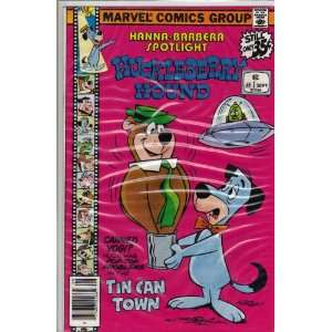 Hanna Barbera Spotlight on Huckleberry Hound First Issue