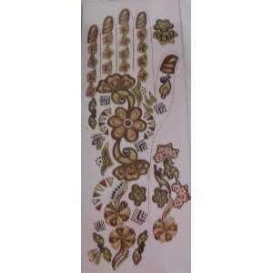 Temporary Heena Hand Decorative Tattoos Indian Style