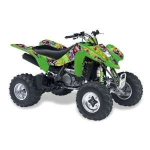 Ed Hardy AMR Racing Kawasaki KFX450, KFX450r ATV Quad, Graphic Kit
