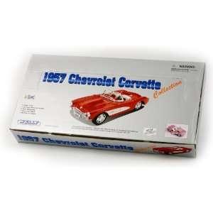 1/24 Scale Diecast 1957 Chevrolet Corvette (4 Car Set
