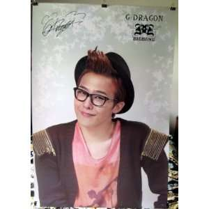 G Dragon of Bigbang #A POSTER 23.5 x 34 Korean boy band
