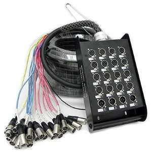 Seismic Audio   16 Channel XLR SNAKE CABLE 100 long   16