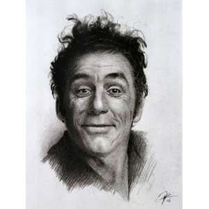 Michael Richards as Kramer from Seinfeld Sketch Portrait