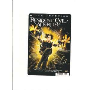 RESIDENT EVIL: AFTERLIFE CARD STOCK PHOTO 8 X 5.5