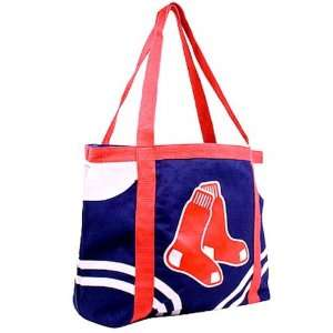 BOSTON RED SOX Blue Tailgate Large Tote Bag Canvas Bag