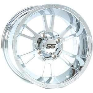 SS112 Wheel   14x6   4+2 Offset   4/110   Chrome, Wheel Rim Size: 14x6