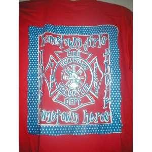 Hometown Girls love their Hometown Heros Red T Shirt