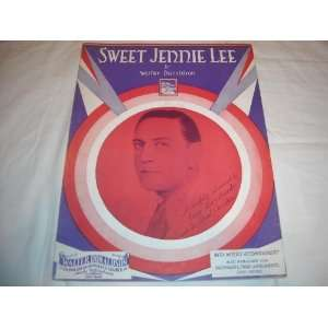 1930 SHEET MUSIC SHEET MUSIC 217: SWEET JENNIE LEE GUY LOMBARDO 1930