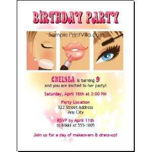 Beauty Queen Birthday Party Invitation Health & Personal