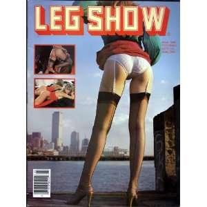 LEG SHOW MARCH 1986 (3/86): LEG SHOW MAGAZINE: Books