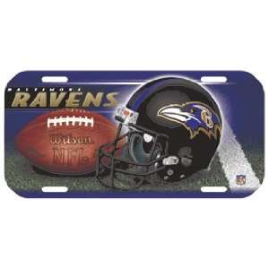 NFL Baltimore Ravens High Definition License Plate