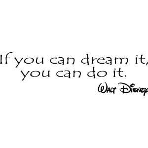 images of if you can dream it do walt disney vinyl wall art decal wallpaper