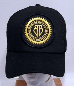 BUCKAROO BANZAI Logo Baseball Cap/Hat w Patch
