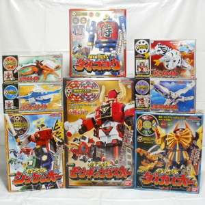 RARE MISB Power Rangers SAMURAI SHINKENGER DX MAGAZORD set