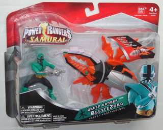 Power Rangers Samurai GREEN RANGER & BEETLEZORD