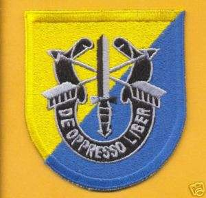 8th Special Forces Group DUI Airborne Pocket Patch