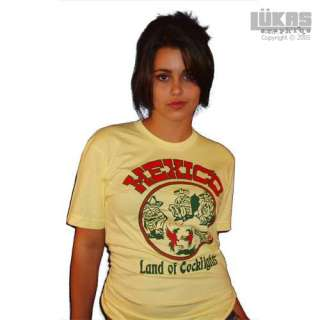 Vintage Mexico Cockfight Tijuana texas beaner t shirt