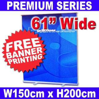 5M Exhibit Trade Show Booth Pop Roll Up Banner Stand
