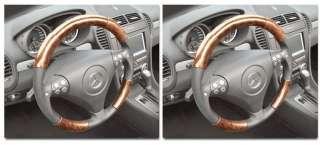 Volkswagen Jetta 10 Wood Steering Wheel Cover Set