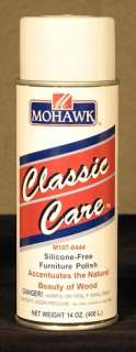 Mohawk Classic Care Furniture Polish Aerosol 14 oz