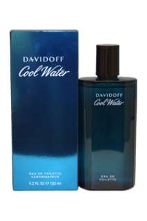 Cool Water by Zino Davidoff for Men   4.2 oz EDT Spray