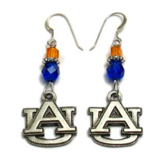 Licensed Southeast SEC Colleges Logo Crystal Earrings