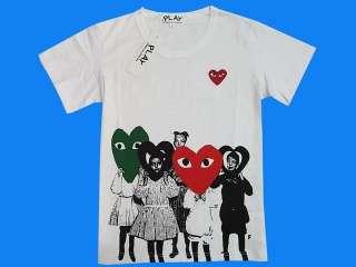 New COMME Des GARCONS cavalli T shirt SzM