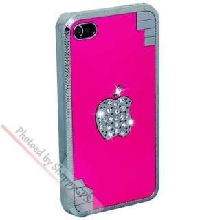 Colors Bling Glitter Crystal Diamond Aluminum Case Cover For Apple