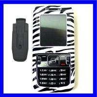 FOR SAMSUNG MESSAGER SCH R450 450 ZEBRA SKIN CASE COVER