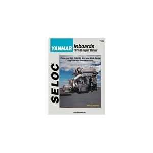 Seloc Marine Tune Up Manual   Yanmar Inboard Diesels 1975