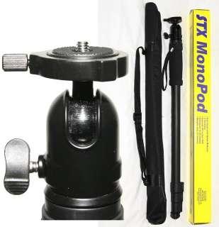 STX MP2 Professional Photo Video DSLR Monopod with Ball Head QR Quick