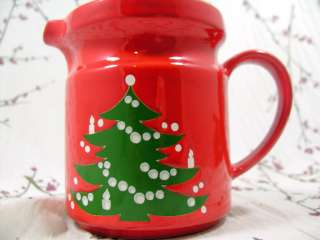 Waechtersbach Water Pitcher/Jug Serving Piece Christmas Tree/Holiday