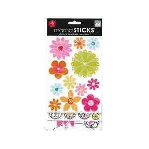 Me&My Big Ideas Sticker Flip Pack Sandbox Flowers Arts