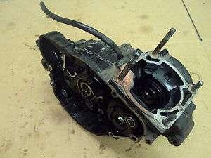 1983 Kawasaki KX125 82 Motorcycle 125cc ENGINE COMPLETE CRANK CASES