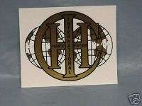 INTERNATIONAL HARVESTER Tractor Decal 1317