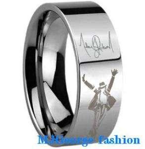 Michael Jackson Ring   tungsten carbide