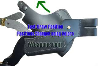 iWeapons Full Leather Shoulder Holster for Glock