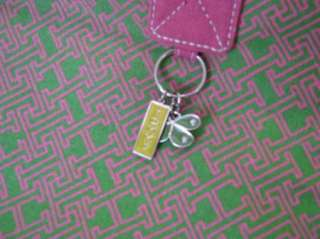 NWT TOMMY HILFIGER Pink & Green BEACH TOTE/BAG Cute