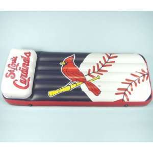 ST. LOUIS CARDINALS FULL SIZE POOL RAFT FLOAT