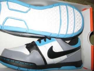 0569b170e645a Nike Shoes Boys Size 4 Youth Morgan 2 Jr. Turquoise Blues Grays Black