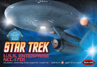 STAR TREK CLASSIC USS ENTERPRISE NCC 1701 1/1000 Blue |