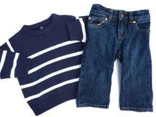 Gymboree Boy Fall Shirts Jeans Overalls Clothing Clothes Lot 12 18 mo