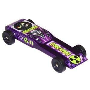 Atomic Wedgie Pinewood Derby Car Kit: Toys & Games
