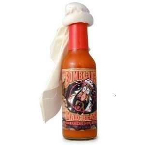 Bomb Laden Mad Blast Habanero Hot Sauce  Grocery & Gourmet
