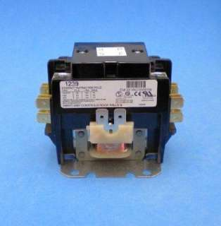 York Luxaire Coleman 30 AMP 2 Pole 24 VAC Contactor