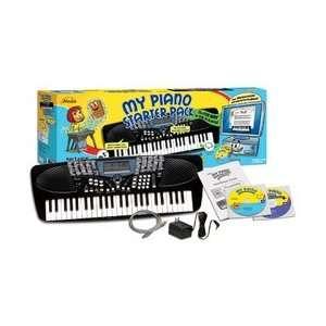 EMEDIA MUSIC CORP EK25103 EMEDIA MY PIANO STARTER PACK