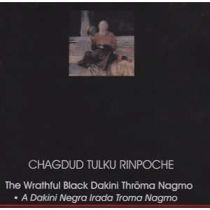 Wrathful Black Dakini Throma Nagmo a Treasure of D