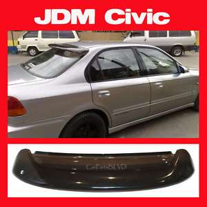 JDM 1996 Honda Civic Sedan EK 4 Door Rear Roof Visor with Brackets Sun