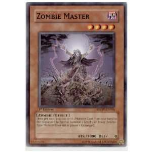 Yu Gi Oh Zombie Master   Zombie World Structure Deck Toys & Games